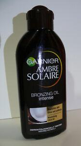 GARNIER AMBRE SOLAIRE SUN TANNING BRONZING OIL ## COCONUT SCENTED 200ml