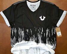 New True Religion Buddha Dripping Yok Liquid  T-Shirt Size Medium  $79.00