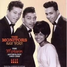 MONITORS - SAY YOU! MOTOWN ANTHOLOGY 1963-1968  CD NEW+
