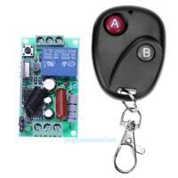 1CH 180-240V Funk Wireless RF Relais Schalter Sender +Empfänger 1x Fernbedienung