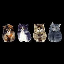 Cute Cat Iron On Patch DIY Heat Transfer Sticker Applique Clothing Bag Decor