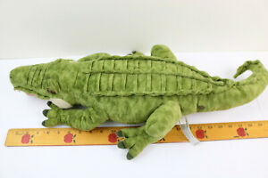 "2015 FAO Schwarz ToysRUs Alligator Crocodile Large 24"" Plush Stuffed Toy Nice!"