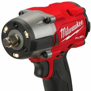 Milwaukee M18 Gen2 Mid-Torque 1/2'' Friction Ring Impact Wrench & 12AH Battery