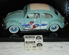 VW Beetle 1:18 Solido Folding Roof Ovp Suchard Milka Die Cast- ⭐️SUPER RARE⭐️