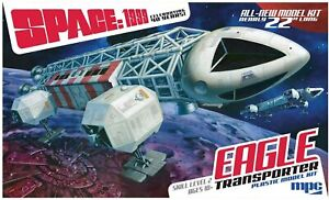 """1:48 Scale Space 1999 Eagle Transporter 22"""" Inches Long MPC825"""