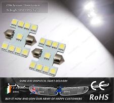 LED SMD C5W Festoon 30mm 31mm Xenon White Interior Dome Overhead Light Bulbs 12V