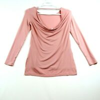 Fabletics Shirt Womens Size XS Light Pink (Salmon) COMFORTABLE Stretch Fit!