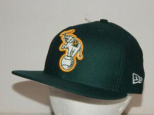 New Era 59Fifty Oakland A's Athletics Flatbill Baseball Hat / Cap Sz 7 3/8
