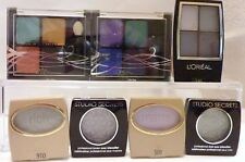 LOREAL Eyeshadow Bulk pack x 7 16 colors in total new Project Runway