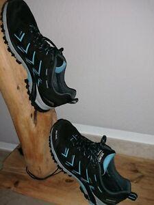 *** MEINDL *** 39 UK 6,5 Wander Schuhe schw./blau boys/ girls NEUW. !