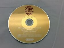 The Legend of Zelda Skyward Sword 25th Anniversary Symphony CD Soundtrack