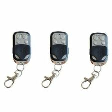 3X telecommande universelle 433 MHZ Porte de Garage Portail Alarme X1V2