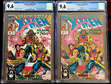 CGC 9.6 UNCANNY X-MEN #282 (Lot of 2) First & Second Print 1st Appearance Bishop