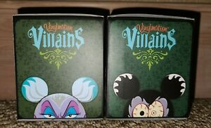 VINYLMATION LOT OF 2 VILLAINS SERIES 1&2 BLIND BOXES HTF 2 SEALED NEW☄📸CHASERS?