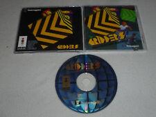 PANASONIC 3DO VIDEO GAME GRIDDERS W CASE & MANUAL FZ10 FZ1 GOLDSTAR TETRAGON >>
