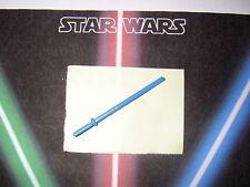 Star wars vintage arme repro weapon Luke jedi knight saber (blue) vintage