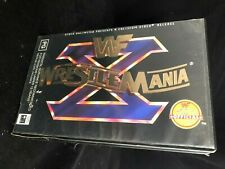 WWF WWE WRESTLEMANIA X VHS