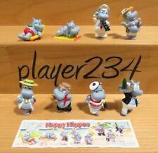 Komplettsatz Happy Hippos Überraschungseier-Sammlerobjekte