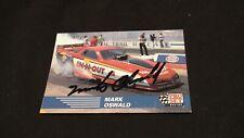Racing Pro Set Card #69 signed by Mark Oswald
