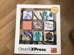 Quark Express 4.1 CD Install For Vintage Mac and PowerMac Computers