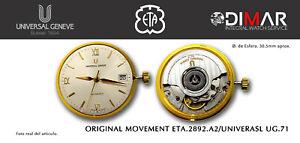 Original Bewegung Eta 2892 A2 / UNIVERSAL UG.71 - Schweizer Gemacht Bewegung
