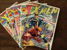 1991 MARVEL Comics X-MEN #1 All 5 Variant Covers  - Old Dealers Stock! - VF/NM