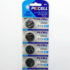 CR2025 High Capacity Lithium Cell battery - 4 New batteries!