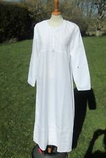 VINTAGE LAURA ASHLEY PINTUCK & LACE NIGHTDRESS / NIGHTGOWN. NEVER BEEN WORN.