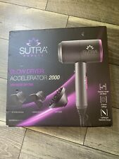 Sutra Blow Dryer Accelerator 2000 Diffuser With 2 Styling Nozzles MSRP $199