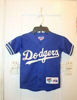 MAJESTIC Diamond Collection Los Angeles Dodgers MLB Boys Medium Mesh Jersey VTG