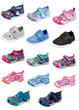 Kinder Stoff Schuhe Hausschuhe Klett Sneaker Freizeit Kita Babyschuhe Gr.19 - 24