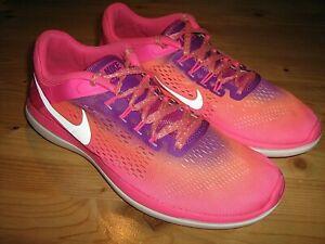 Women's sz 7.5 NIKE Flex 2016 Run Athletic Shoes Multicolor (830752-601)