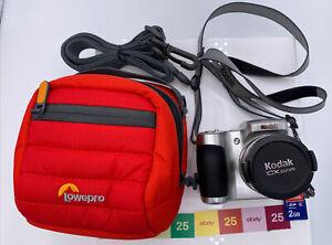 Kodak EasyShare Z710 Digital Camera 10x 7.1 MP Silver Tested-Works