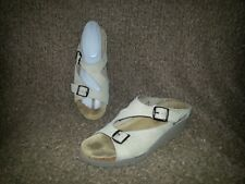 MEPHISTO Elka-Sand Nubuck Leather Strappy Sandals-Size 40/10-Excellent