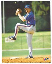 Loose 1989 Major League Baseball David Cone New York Mets Color Photo