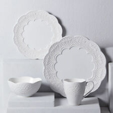 Lenox Chelse Muse Scallop White 4-piece Place Setting - Set of 8
