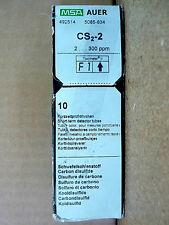 MSA 492514 Gas Indicator Tube Detector Carbon Disulfide CS2-2