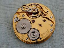 "Antique Stem wind Chronometer ""Deck Watch"" S&Co style pocket watch movement"