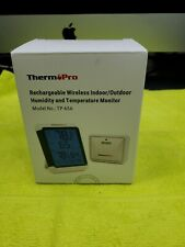 ThermPro TP-67A Wireless Indoor/outdoor humidity and temperature monitor-new