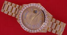 22.80 Karat weiße Diamanten Rolex Day-Date President II 2 218238 18K YG Asaar