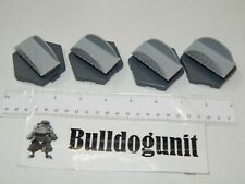 2010 Monopoly U-Build Board Game  Replacements 4 Bridge Tile Parts Only