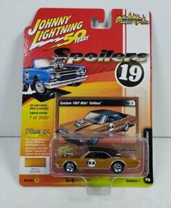 Johnny Lightning 50 Years Spoilers 19 Custom 1967 Olds Cutlass Version A