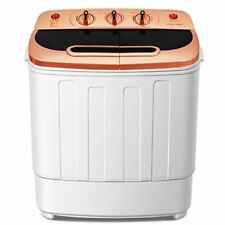 Laundry Washer & Spin Dryer Combo Portable Mini Washing Machine 13lbs Stacka