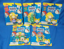 Lot of 5 Vintage 1997 Rugrats Collectable Keychains