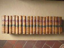 LONGUEVAL : HISTOIRE DE L'EGLISE GALLICANE. Nimes, 1780/81. 18 volumes in-8.