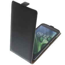 Tasche für Acer Liquid Zest Plus FlipStyle Handytasche Schutz Hülle Flip Schwarz