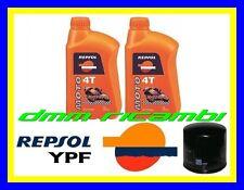 Kit Tagliando HONDA SH 300 09>10 Filtro Olio REPSOL RACING 10W40 SH300 2009 2010
