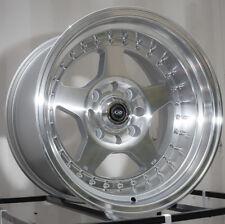 15x9 Rota KYUSHA 4x114.3 -15 Full Royal Silver Wheel (1)