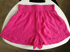 Women's Pink Lounge Shorts Millau Silk Pink M - may fit S - NWOT