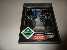 PlayStation 2  Transformers: The Game [Platinum] (6)